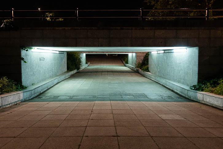 A Milton Keynes underpass