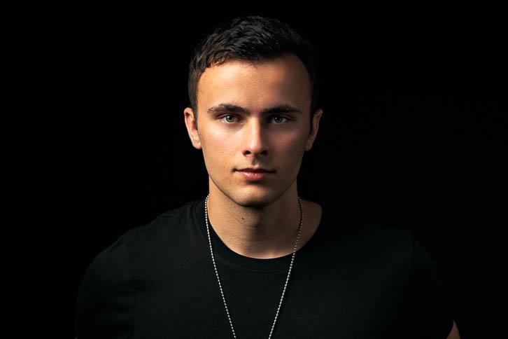 Portrait of Gandekko band member Gavin